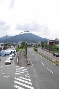 中村歩道橋(国道23号線)からの眺め