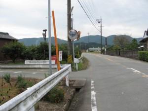 原交差点の南側の十字路