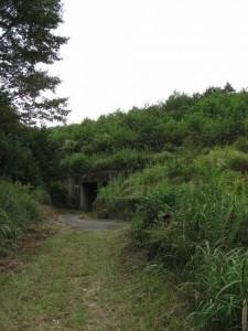伊勢自動車道下のトンネル「勢和多気40」
