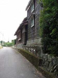 田宮寺付近