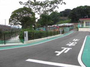 平成24年6月に架け替えられた桜橋