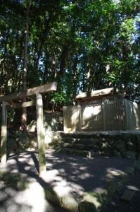 道標(赤崎神社)
