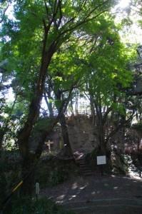戦国武将 鳥羽主水の砦跡
