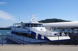 高速船きらめき(鳥羽市営定期船)
