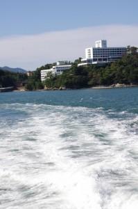 佐田浜→神島(鳥羽市営定期船)