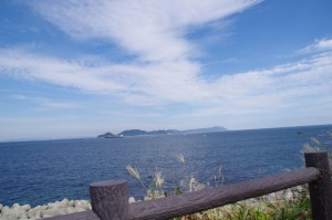 伊良湖の見える丘(旧オーカ)から伊良湖の遠望
