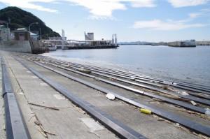 船揚場(神島港)