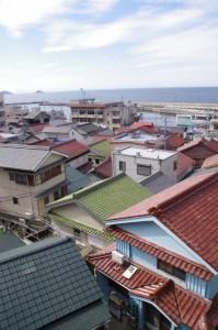 八代神社付近からの眺望(神島)