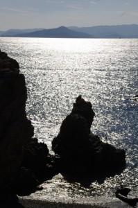 八畳岩付近(神島)