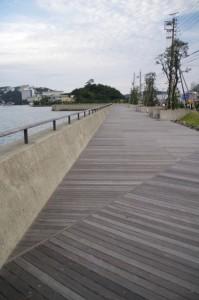 鳥羽・海辺のプロムナード(カモメの散歩道)