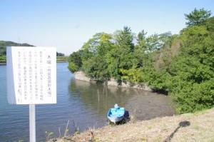 木場(内宮造営貯木場)跡