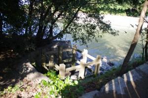 虎石(鏡宮神社)