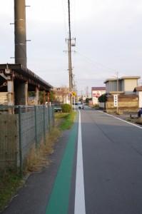 竹ヶ鼻町~御薗町新開の途中(伊勢市)