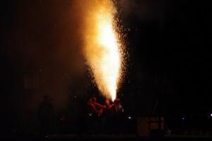 7.遠州新居保存会(静岡県湖西市)手筒花火