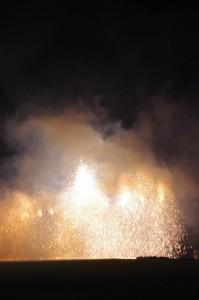 8.那賀町吹筒煙火保存会(徳島県那賀市)吹筒花火