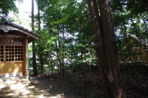 甘露花壽稲荷神社、秋葉神社と久志本社(伊勢市神久)