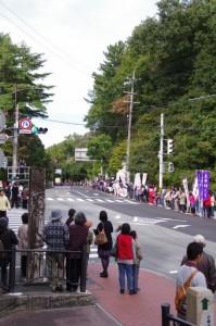 第44回全日本大学駅伝対校選手権大会(倭姫前交差点)