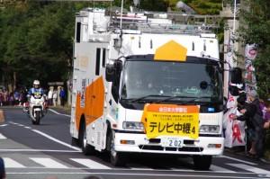 テレビ中継車4(倭姫前交差点)