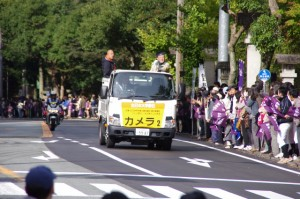 カメラ車2(倭姫前交差点)