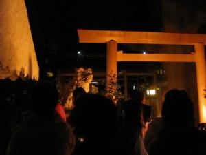遷座祭(箕曲神社)