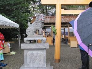 奉祝祭(箕曲神社)