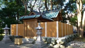 奉祝祭の翌日(箕曲神社)