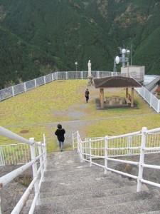 奥香肌湖 (蓮ダム)の展望台