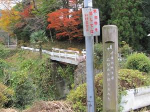 波瀬神社付近(松阪市飯高町波瀬)