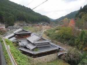 波瀬本陣跡付近からの風景(松阪市飯高町波瀬)