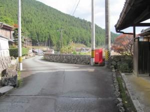 波瀬本陣跡付近(松阪市飯高町波瀬)