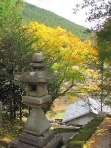 波瀬神社(松阪市飯高町波瀬)からの風景