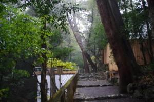 多賀宮への参道