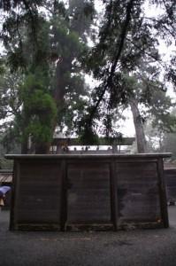 御正宮の蕃塀と大御饌儀の名残り(外宮)