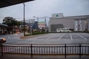 駅前広場整備が完成した宇治山田駅