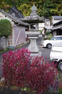 常念寺付近の太神宮常夜燈(桜井市)