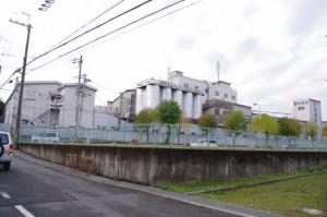 旭製粉本社工場付近