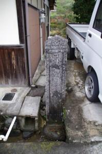 談山神社多武峯町石(西内酒造付近)