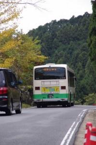 桜井駅から談山神社への始発バス