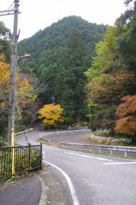 不動滝へ(百市バス停~多武峯バス停)