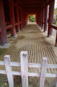 (11)拝殿の下部(談山神社)