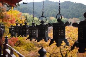 (11)拝殿の回廊からの風景(談山神社)