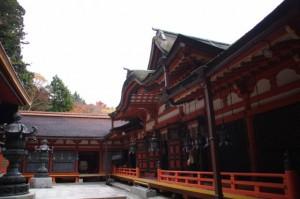 東透廊と(11)拝殿(談山神社)