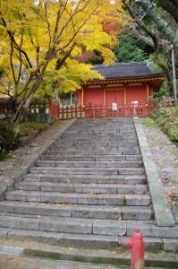 (12)東宝庫への石段(談山神社)