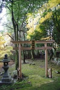 三社神社(談山神社西大門跡~増賀上人墓)
