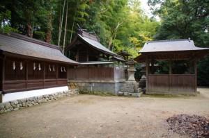 八幡神社ほか(飛鳥坐神社)