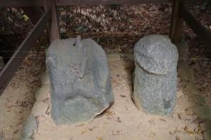 八坂神社・金毘羅神社の陰陽石(飛鳥坐神社)