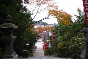 飛鳥坐神社からの風景