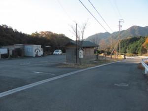 坂本棚田の駐車場