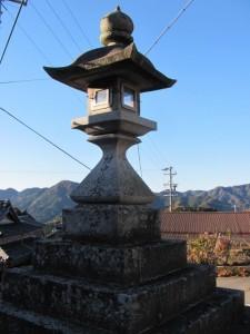 常夜燈(坂本棚田)