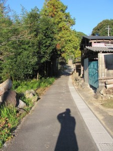 坂本農村公園へ(坂本棚田)